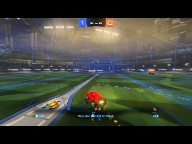 Rocket League | Shot with GeForce GTX