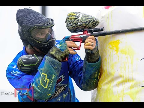 Paintball - RAW X-Factor vs Impact on NXL Vegas 2017 layout