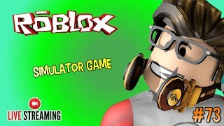 Live Streaming 🔴 #73 - MAIN GAME SIMULATOR CUY #CUPUSKWAD - ROBLOX INDONESIA