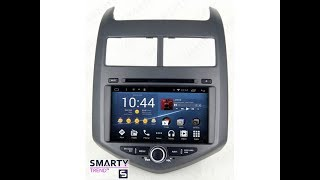 The SMARTY Trend head unit for Chevrolet Aveo.