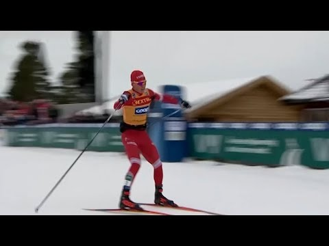 Александр Большунов признан сильнейшим лыжником в мире