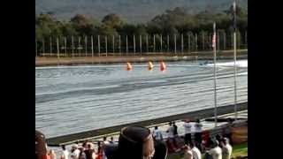 BAD Boats UIM Unlimited Displacement Class World Titles Day 1 Penrith