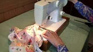 Юбка на резинке(Видео-урок: Как сшить юбку на резинке. Проект для новичков. больше видео-уроков на: http://forbeginners.ru http://sewing-club.ru..., 2012-05-26T21:56:20.000Z)