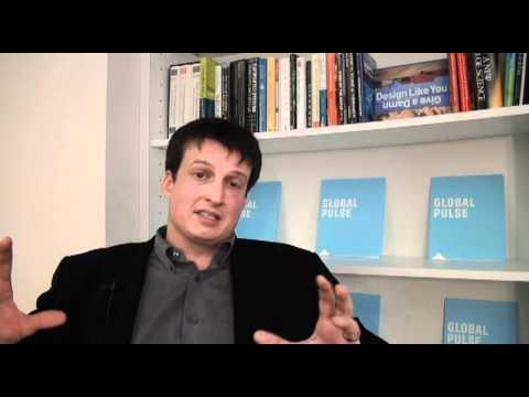 Robert Kirkpatrick discussing the Global Pulse technology platform.