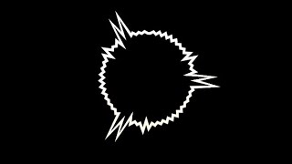 موجات صوتيه دائريه للمونتاج ||كروما سوداء||2020 تصميمي.