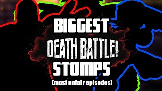 Top 20 most UNFAIR Death Battles (by their own logic)