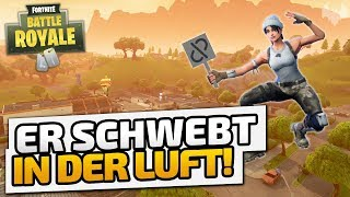 Er schwebt in der Luft! - ♠ Fortnite Battle Royale ♠ - Deutsch German - Dhalucard