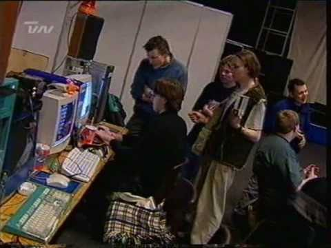 The Party - LAN/computer-party i Aars (TV-nord indslag fra 2000)