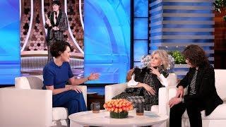 Phoebe Waller-Bridge Brushed Up Against a Lot of Stars at Golden Globes