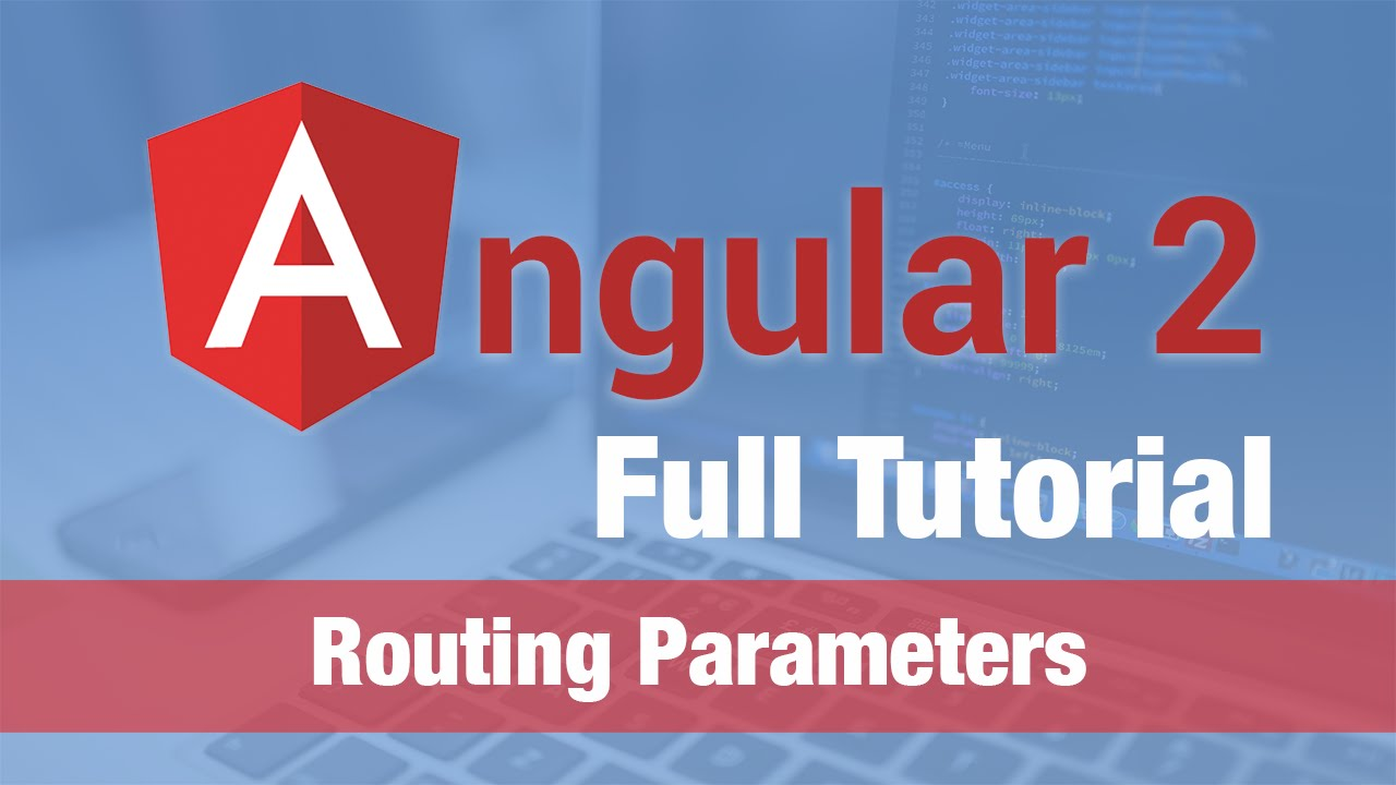 Angular 2 Tutorial (2016) - Routing with Parameters