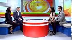 CTV.BY: Представители ОАО «Белорусский Народный Банк» Ксения Косачева и Юрий Галков на СТВ