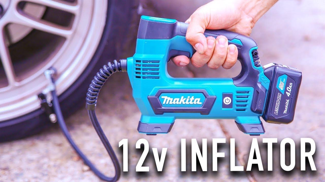 New 12v Makita Inflator Pump Mp100dz Youtube