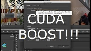adobe premiere nvidia cuda vs mercury playback engine software only
