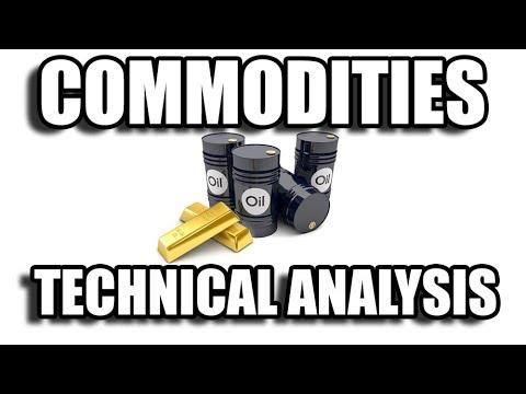 Dollar, Gold, Oil, Natgas Technical Analysis Chart 4/22/2018 by ChartGuys.com