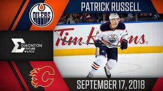 Patrick Russell | Two Goals vs Calgary | Sep. 17, 2018