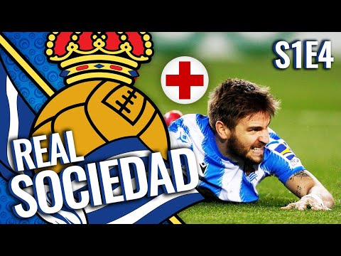 HUGE INJURY TO A STAR PLAYER | REAL SOCIEDAD CAREER MODE S1E4