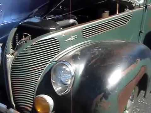 1938 FORD DELUXE 8 SEDAN - 1 OF 2 BODY STYLES THIS YEAR