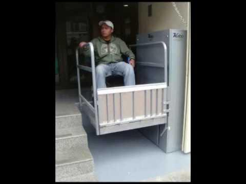K 01 Elevador Para Discapacitados Weelchair Elevator