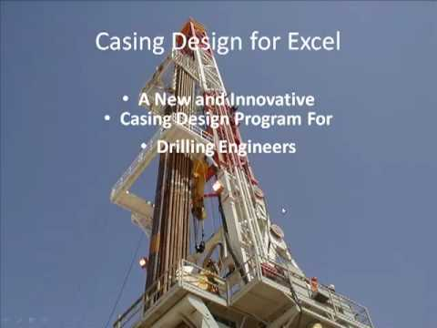 Casing Design for drilling engineers