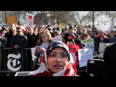Protests of Immigration Ban Continue | The Daily 360 | The New York Times