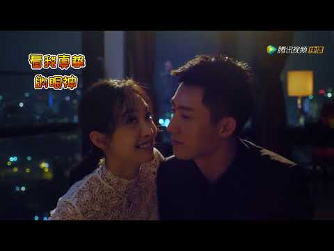 Moonshine and Valentine Kiss BTS- Victoria Song and Johnny Huang