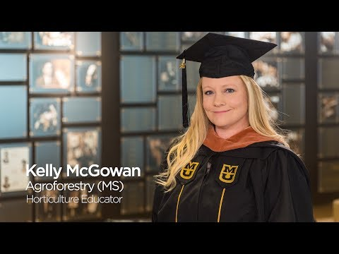 Kelly McGowan: Master of Science in Agroforestry `17, University of Missouri