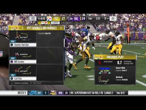 Madden NFL 17 hurry up offense