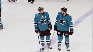 Mic'd Up: Tomas Hertl vs Blackhawks