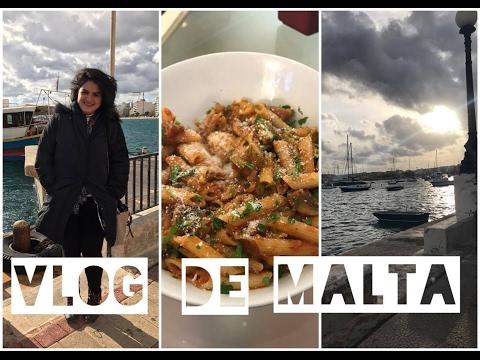Centro de Sliema na Ilha de Malta!