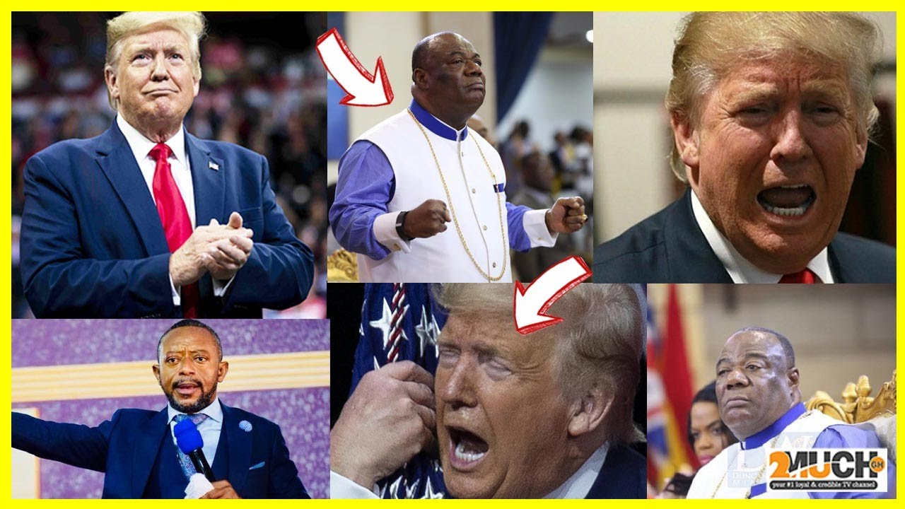 Sad; Archbishop Duncan Williams Stops Praying For President Donald Trump.......