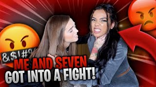 Me & Seven Got Into A F!GHT !!!! **YOULL NEVER GUESS OVER WHO** | Woah Vicky