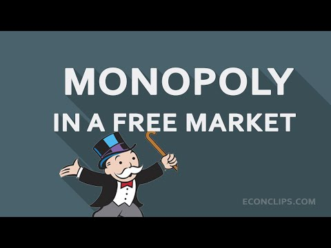Monopoly in a free market #Is it possible?