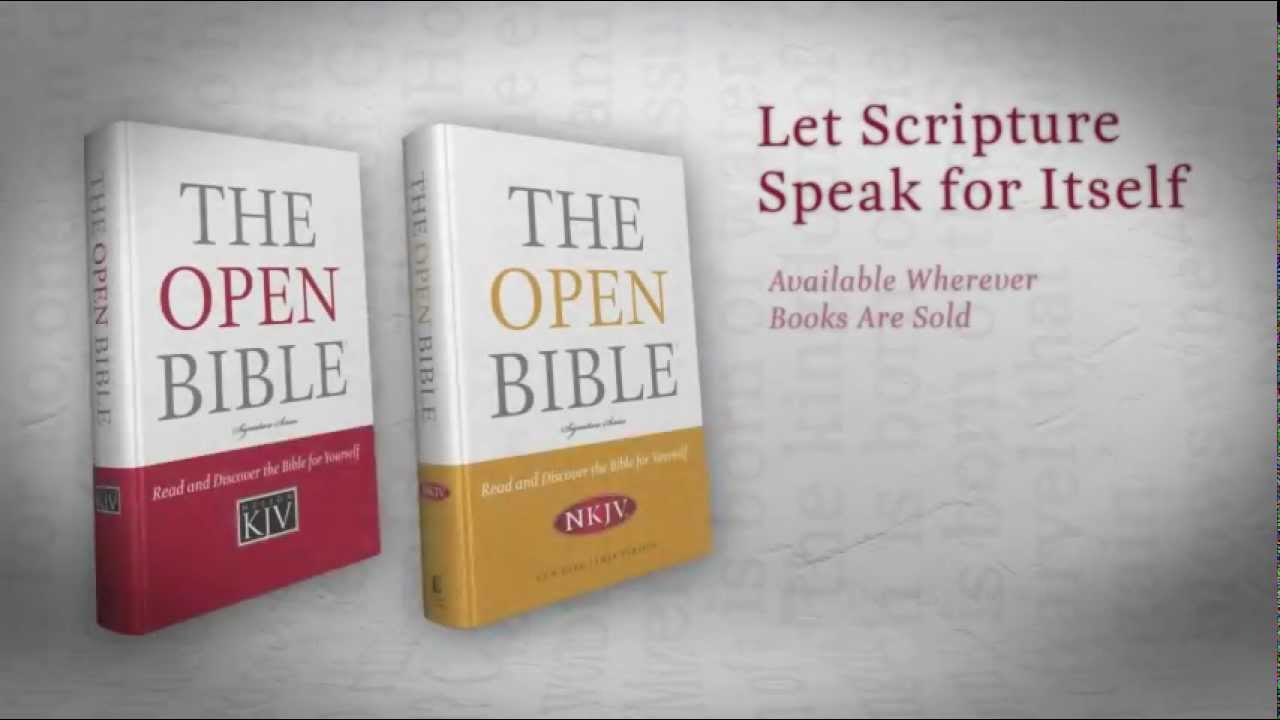 The Open Bible with Free Download