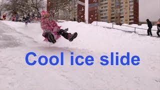 Ice slide for kids