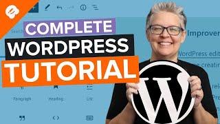 WordPress Tutorial [UPDATED] - H๐w to Make a WordPress Website for Beginners