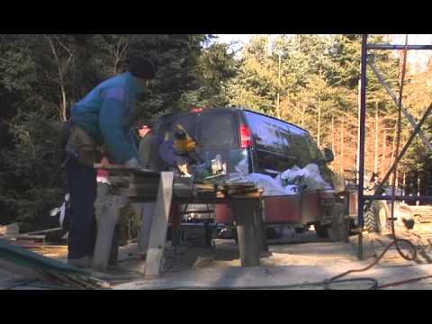 Documentaire sur la construction de l'Éco-chalet de Saint-Alban