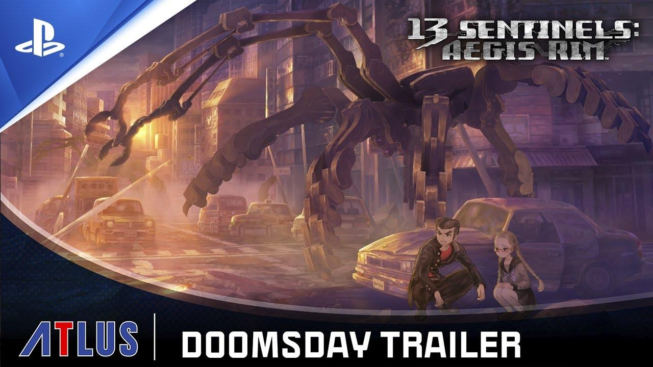 13 Sentinels Aegis Rim   Doomsday Trailer   PS4