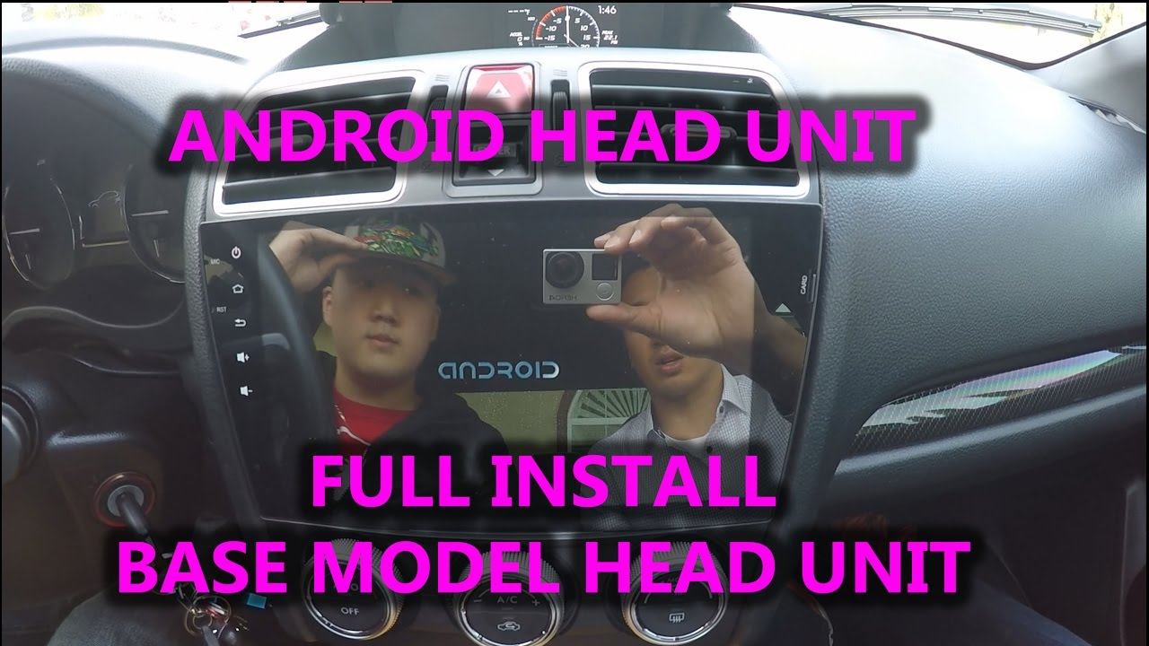 small resolution of android head unit full install video base subaru wrx sti forester 2015 car audio rk3188 youtube