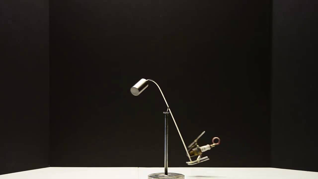 The mini helicopter kinetic balancing desk toy physics for Kinetic desk sculpture