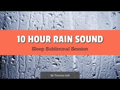 Boost Your Self-Esteem & Feel Great - (10 Hour) Rain Sound - Sleep Subliminal - By Thomas Hall