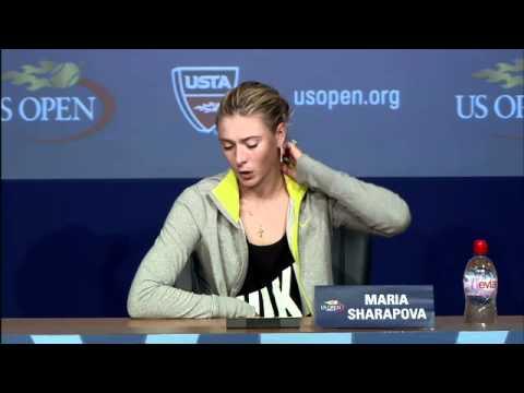 2011 US Open Press Conferences: Maria Sharapova (Third Round)