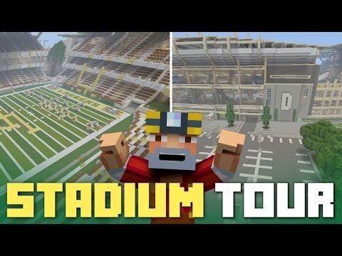 Minecraft Xbox One: Full-Scale Football Stadium!