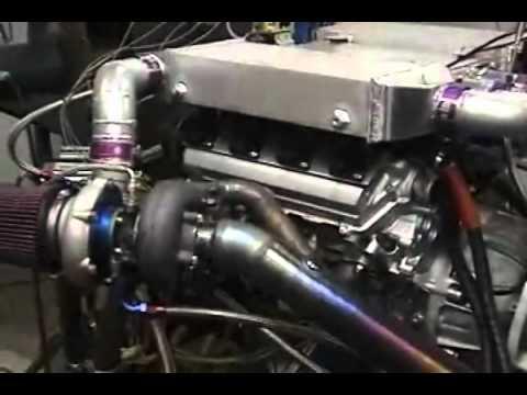 คลิป V8 เครื่องยนต์เทอร์โบรอบสูง