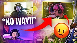 THIS GLITCH RUINED NINJA'S FORTNITE! NICKMERCS AND I CAN'T BELIEVE IT! (Fortnite: Battle Royale)
