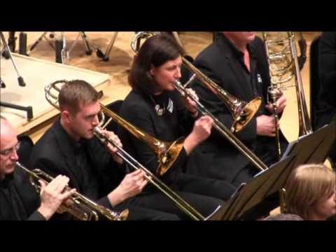 Spirit Of Andalusia By Philip Sparke. Glasgow Wind Band At The SCBF, Perth 2016