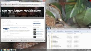 Repeat youtube video How to: Download and Install Manhattan Mod V. 2.0.1 + Patches  w/commentary | EM 4 | 18.1.2013