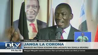 COVID-19: Wauguzi watishia kugoma kwa ukosefu wa vifaa