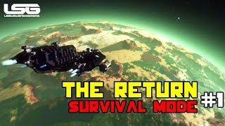 Space Engineers -  The Return , Drone Wars  SE4 - Part 1