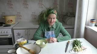 Вкусные котлеты из зелёного лука!
