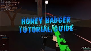 Roblox Phantom Forces Best Honey Badger Attachments and Guide! How To Use The Honey Badger In PF!